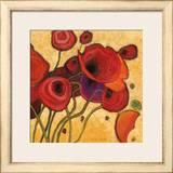 Poppies Wildly II Posters by Shirley Novak