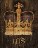His Majesty&#39;s Crown Affiche par Avery Tillmon