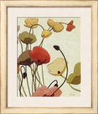 Pavots Ondule Prints by Shirley Novak