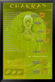 Chakras and Mudras Poster