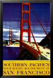 Souther Pacific, San Francisco Posters