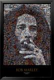 Bob Marley, mosaïque Affiches