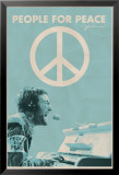John Lennon, concert People for Peace Posters