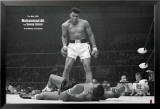 Mohammed Ali vs. Sonny Liston Poster