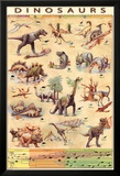 Dinosaures Affiches