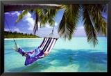 Tropischer Strand Poster