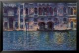 Venice Palazzo Da Mula Posters by Claude Monet