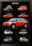 Evolution - Mini Cooper Posters