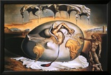 Geopoliticus Kunstdruck von Salvador Dal&#237;