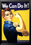 We Can Do It! (Rosie the Riveter) Posters