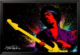 Jimi Hendrix Kunstdrucke