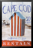 Cape Cod Cabana Affiches par Robert Downs