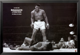 Mohammed Ali contre Sonny Liston Affiches