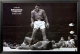 Bokser Muhammad Ali tegen Sonny Liston Posters
