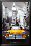 New York Taxi N. 1 Poster