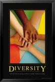 Diversité, en anglais Posters