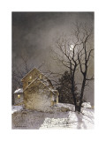 Working Late Giclee Print by Ray Hendershot
