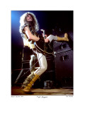 Ted Nugent Boston Garden 1979 Limited Edition by Ron Pownall