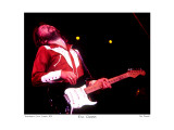 Eric Clapton Providence Civic Center 1974 Limitierte Auflage von Ron Pownall