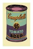 Lattina di zuppa Campbell's, 1965 (verde e viola) Stampa giclée di Andy Warhol