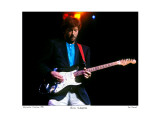 Eric Clapton Worcester Centrum 1985 Limited Edition by Ron Pownall