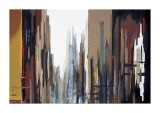 Urban Abstract No. 165 Giclee Print by Gregory Lang