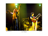 Led Zeppelin Boston Garden 1973 Limitierte Auflage von Ron Pownall