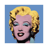 Shot Blue Marilyn, c.1964 Giclée-tryk af Andy Warhol