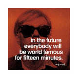 Fifteen Minutes Giclee Print by Andy Warhol