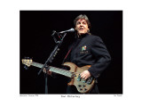 Paul McCartney Worcester Centrum 1990 Limited Edition by Ron Pownall