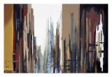 Urban Abstract No. 165 Reproduction procédé giclée par Gregory Lang