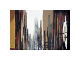 Urban Abstract No. 165 Lámina giclée por Gregory Lang