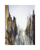 Urban, abstrakt, nr. 141 Giclée-tryk af Gregory Lang