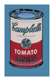 Campbell's Soup Can, 1965 (Pink and Red) Giclee PrintAndy Warhol