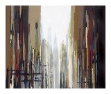 Urban Abstract No. 159 Giclee Print by Gregory Lang