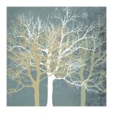 Tranquil Trees Giclée-tryk af Erin Clark