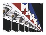 Martini Wydruk giclee autor Steve Forney