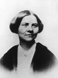 Portrait of American Abolitionist and Women's Rights Activist Lucy Stone Photographic Print