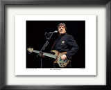 Paul McCartney Worcester Centrum 1990 Limited Edition Framed Print by Ron Pownall