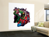 Spider-Man, Mysterio, Doctor Octopus Wall Mural – Large