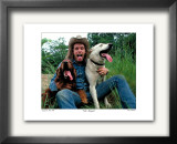 Ted Nugent Jackson, MI 1978 Limited Edition Framed Print by Ron Pownall