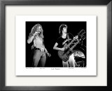 Led Zeppelin Boston Garden 1973 Limited Edition Framed Print by Ron Pownall
