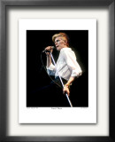 David Bowie Boston Garden 1976 Limited Edition Framed Print by Ron Pownall