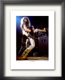 Ted Nugent Boston Garden 1979 Limited Edition Framed Print by Ron Pownall