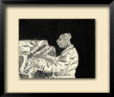 Eubie in Concert Limited Edition Framed Print by John Woolley