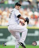 John Danks 2010 Action Photo