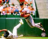 Cal Ripken Jr. 1989 Action Photographie