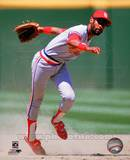 Ozzie Smith 1985 Action Photo