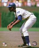 Chicago Cubs Ernie Banks 1969 Action Photo