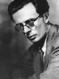 Portrait of Writer Aldous Huxley Reproduction photographique par Frederic Lewis